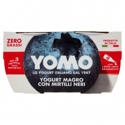 YOGURT YOMO GR.125X2 MAGRO MIRTILLI
