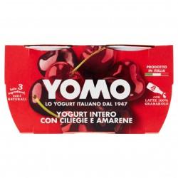 YOGURT YOMO GR.125X2 INTERO CILIEGIA