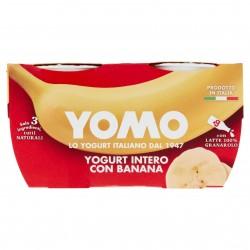 YOGURT YOMO GR.125X2 INTERO BANANA