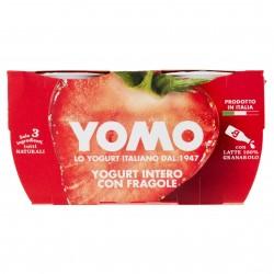 YOGURT YOMO GR.125X2 INTERO FRAGOLA