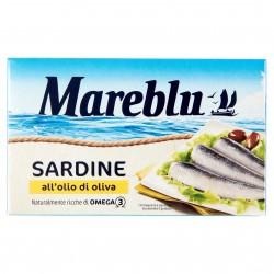 SARDINE MARE BLU O/OLIVA GR.120