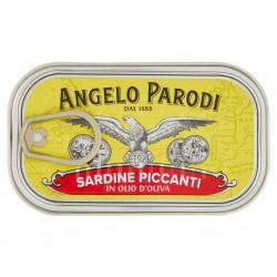 SARDINE PICCANTI A.PARODI O/OL LATT. GR.120