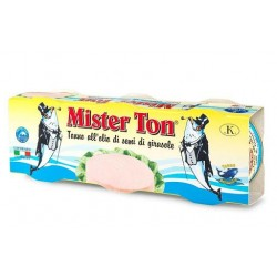 TONNO MISTER TON O/GIRASOLE TRIS GR.80