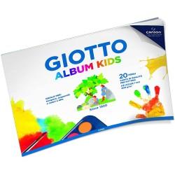 CANCELLERIA GIOTTO ALBUM DISEGNO KIDS A4 20F GR200