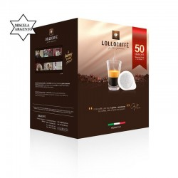 CAFFE' LOLLO CIALDE QUALITA' ARGENTO PZ.50