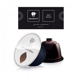 CAPSULE CAFFE C/DOLCE G. LOLLO NERO PZ.30