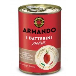 POMODORI DATTERINI PELATI ARMANDO LATTA GR.400