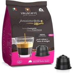 CAPSULE CAFFE C/DOLCE G. LOLLO SACC.NERO PZ.16