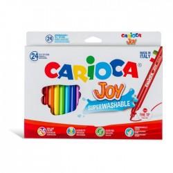 CANCELLERIA CARIOCA JOY COLORI PENNARELLO PZ.24