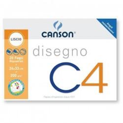 CANCELLERIA ALBUM DISEGNO RIQUADRATO C4 24X33 F.20