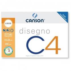 CANCELLERIA ALBUM DISEGNO RIQUADRATO C4 33X48 F.20