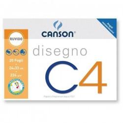 CANCELLERIA ALBUM DISEGNO RUVIDO C4 24X33 F.20